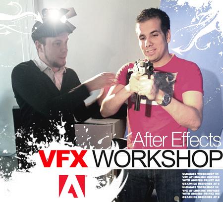 Workshop med Anders Printz i visuella effekter